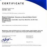 ISO 9001-2015 INGILIZCE